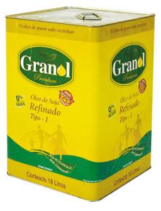 Óleo de Soja Granol -18l