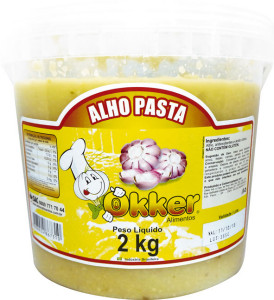 Alho em pasta Okker Balde - 2kg