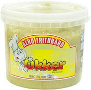 Alho triturado Okker Balde - 3kg