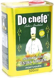 Azeite Português Extra Virgem do Chefe Lata - 500ml