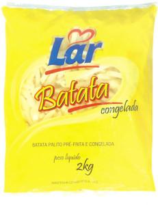Batata Congelada Lar - 2kg