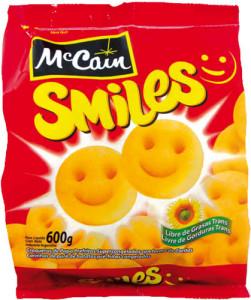 Batata Mc Cain Smiles - 600g