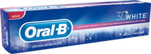 Creme Dental Oral B 3D White - 70g