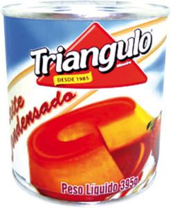 Leite Condensado Triangulo Mineiro Lata - 395g