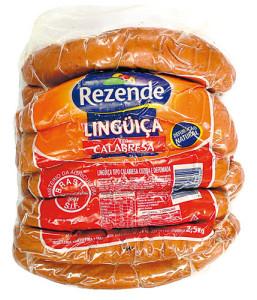 Linguiça Calabresa Rezende Pacote - 2,5kg