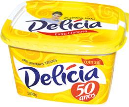 Margarina Cremosa Delicia - 500g