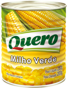 Milho Verd Quero Lata - 200g - 280g