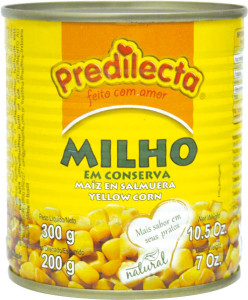 Milho Verde Predilecta Lata - 300g - 200g