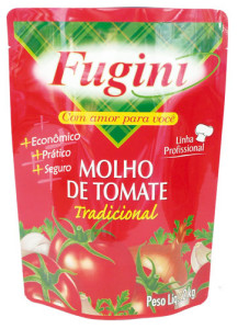 Molho de Tomate Fugini Tradicional - 2kg