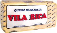 Queijo Mussarela Vila Rica Peça - kg