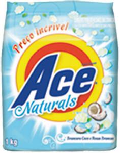 Sabão em Pó Ace Naturals Côco - 1kg