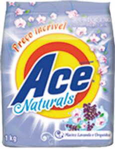 Sabão em Pó Ace Naturals Maciez - 1kg