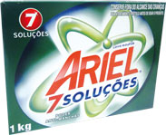 Sabão em Pó Ariel 7 Soluções - Caixa 1kg
