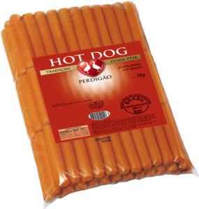 Salsicha Hot Dog Perdigão - 5kg