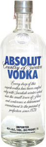 Vodka Absolut - 1 litro