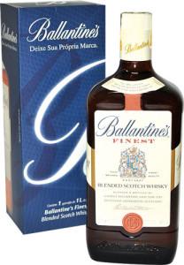 Whisky Ballantines - Finest 8 anos - 1litro - Caixa