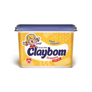 Margarina Claybom Com Sal pote 1Kg