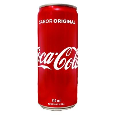 Refrigerante Coca Cola Lata 310 ML